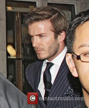 David Beckham, Alexander Wang and London Fashion Week