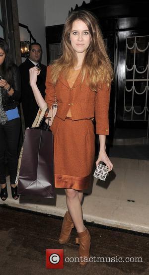Sunday Girl aka Jade Williams London Fashion Week A/W 2011 - Mulberry show, held at Claridges Hotel - Departures London,...