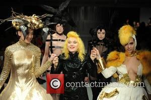 Daisy Lowe, Alice Dellal and Pam Hogg