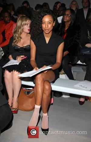 Corinne Bailey Rae London Fashion Week A/W 2011 - PPQ - Front Row London, England - 18.02.11