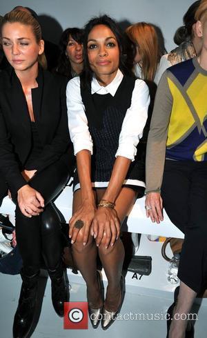 Rosario Dawson and London Fashion Week