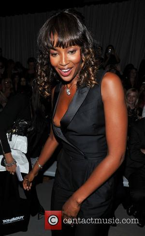 Naomi Campbell and Somerset House