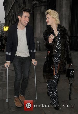 Nick Grimshaw and Pixie Geldof