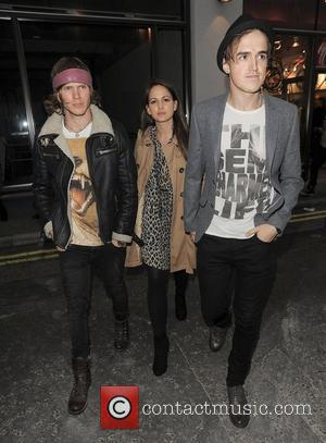 Dougie Poynter, Tom Fletcher and London Fashion Week