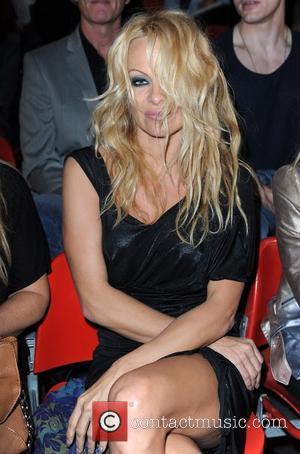 Pamela Anderson and London Fashion Week