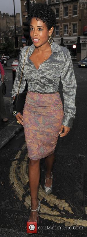 Kelis London Fashion Week Spring/Summer 2012 -Vivienne Westwood - Outside London, England - 17.09.11