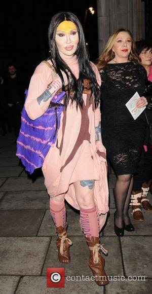 Pete Burns and Vivienne Westwood