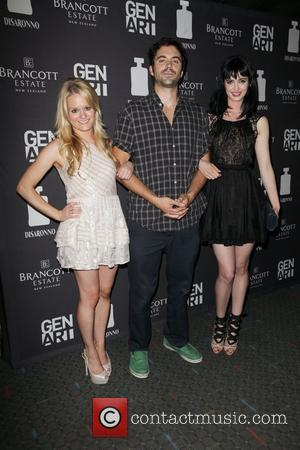 Fallon Goodson, Rhys Coiro and Krysten Ritter Special screening of 'Life Happens' at the Visual Arts Theater New York City,...