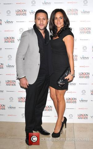 Antony Costa and guest London Lifestyle Awards at the Park Plaza Riverbank - Arrivals. London, England - 06.10.11