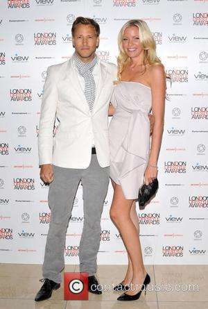 Rick Parfitt Jr and guest London Lifestyle Awards at the Park Plaza Riverbank - Arrivals. London, England - 06.10.11