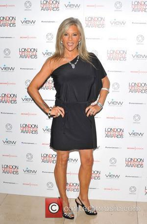 Samantha Fox London Lifestyle Awards at the Park Plaza Riverbank - Arrivals. London, England - 06.10.11