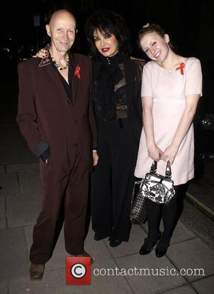 Richard O'Brien and guests ,  at the THT's Lighthouse Gala Auction at Christie's - Arrivals London, England -21.03.11