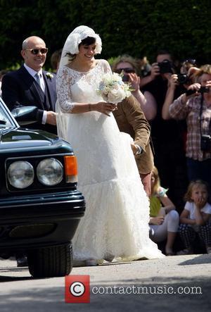 Lily Allen  The wedding of Lily Allen and Sam Cooper Cranham, Gloucestershire - 11.06.11