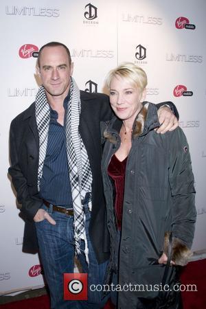 Christopher Meloni, Doris Sherman The New York premiere of 'Limitless' - Inside Arrivals  New York City, USA - 08.03.11