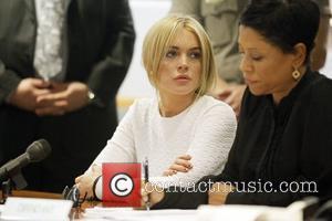 Lindsay Lohan and Chapman