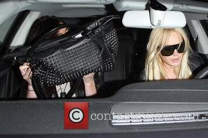 Ali Lohan and Lindsay Lohan Lindsay Lohan and her sister leaving Byron & Tracey salon in Beverly Hills after getting...
