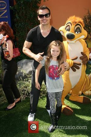 Antonio Sabato Jr. and daughter, Mina Bree World Premiere of Disney's The Lion King 3D held at the El Capitan...