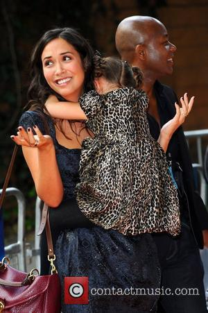 Myleene Klass And Daughter Ava Step Out For Premiere