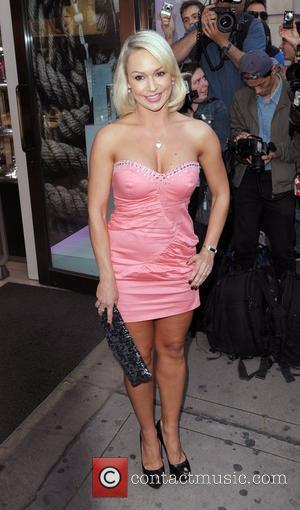 Kristina Rihanoff Pixie Lott for Lipsy at the Swaroski Crystal Boutique - Arrivals London, England - 21.04.11