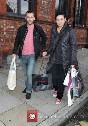 Charlie Condou and Alison King leaves the Lipsy gifting event at the Great John Street Hotel. Manchester, England - 23.11.11