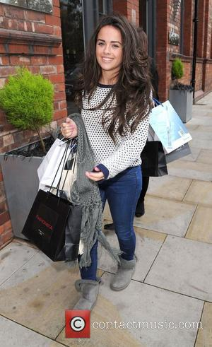 Georgia May Foote leaves the Lipsy gifting event at the Great John Street Hotel. Manchester, England - 23.11.11
