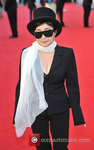 Yoko Ono UK Premiere of 'George Harrison: Living In The Material World' at BFI Southbank - Arrivals London, England -...