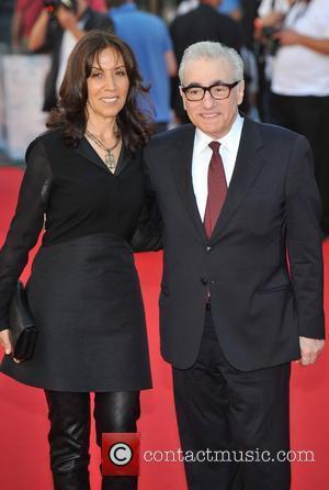 Olivia Harrison and Martin Scorsese