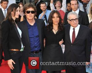 Sir Paul Mccartney, Martin Scorsese, Nancy Sorrell and Olivia Harrison