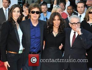 Sir Paul Mccartney, Martin Scorsese and Nancy Sorrell