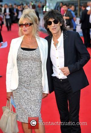 Pattie Boyd and Ronnie Wood George Harrison UK film premiere held at the BFI Southbank - Arrivals. London, England -...
