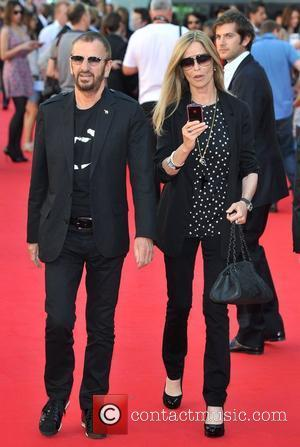 Ringo Starr and Barbara Bach George Harrison UK film premiere held at the BFI Southbank - Arrivals. London, England -...