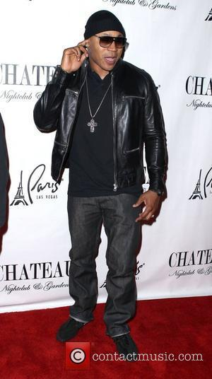 LL Cool J appears as a special guest at Chateau nightclub inside the Paris Hotel and Casino Las Vegas, Nevada...
