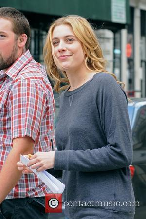 Greta Gerwig on the set of 'Lola Versus' shooting on location in Manhattan New York City, USA - 13.06.11