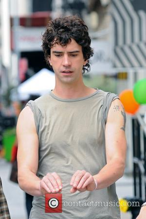 Hamish Linklater  on the set of 'Lola Versus' shooting on location in Manhattan New York City, USA - 13.06.11