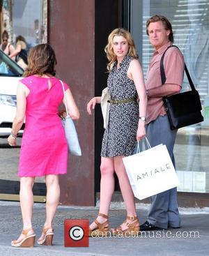Debra Winger, Bill Pullman and Greta Gerwig on the set of their new film 'Lola Versus' New York City, USA...