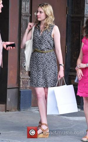 Greta Gerwig on the set of her new film 'Lola Versus' New York City, USA - 01.07.11