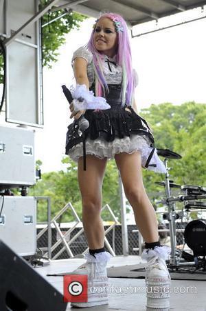Kerli Lollapalooza Music Festival 2011 - Performances - Day 1 Chicago, Illinois - 05.08.11