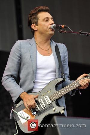 Jamie Hince of The Kills Lollapalooza Music Festival 2011 - Performances - Day 1 Chicago, Illinois - 05.08.11