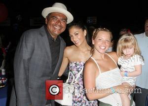 George Lopez and Nicole Scherzinger