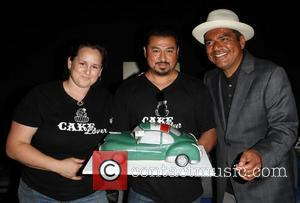 George Lopez and Sponsors,  The Lopez Foundation celebrates 4th of July with fireworks and a salute to our troops...