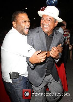 George Lopez, Anthony Anderson,  The Lopez Foundation celebrates 4th of July with fireworks and a salute to our troops...