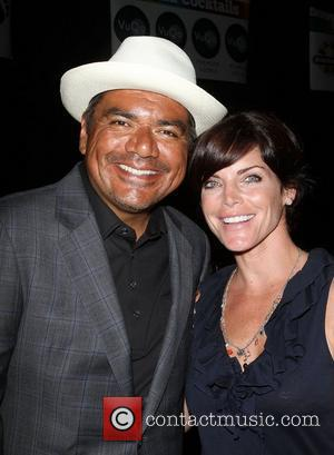 George Lopez and Lesli Kay,  The Lopez Foundation celebrates 4th of July with fireworks and a salute to our...