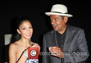 George Lopez and Nicole Scherzinger,  The Lopez Foundation celebrates 4th of July with fireworks and a salute to our...