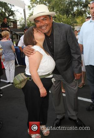 George Lopez and Guest,  The Lopez Foundation celebrates 4th of July with fireworks and a salute to our troops...