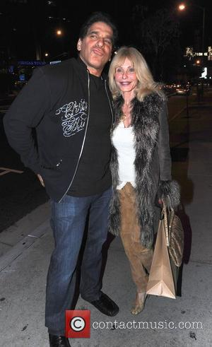 Lou Ferrigno and wife Carla Ferrigno out and about Los Angeles, California - 31.01.11
