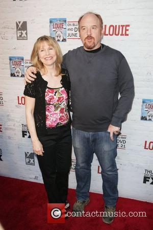 Donna Hanover, Louis C.K. FX Networks proudly presents Louie season 2 premiere screening at Carolines on Broadway  New York...