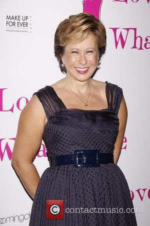 Yeardley Smith (voice of Lisa Simpson from The Simpsons) After party celebrating the new cast of the Off-Broadway production of...