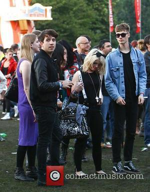 Kelly Osbourne and Nick Grimshaw