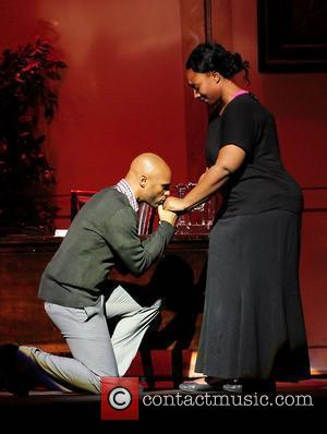Kenny Lattimore and Dottie Peoples Theo London's inspirational staged play 'Loving Him is Killing Me' at James L. Knight Center...