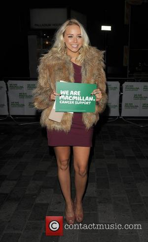 Sacha Parkinson Macmillan Centenary Gala, held at the London Palladium London, England - 28.11.11
